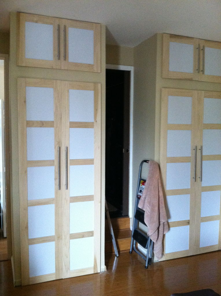 make sliding doors for closet