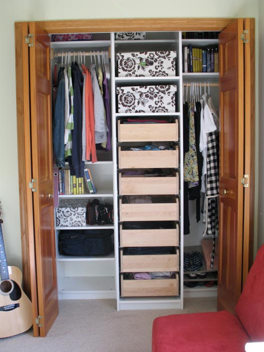 Do It Yourself Home Design: Reach In Closet Organizers Ikea