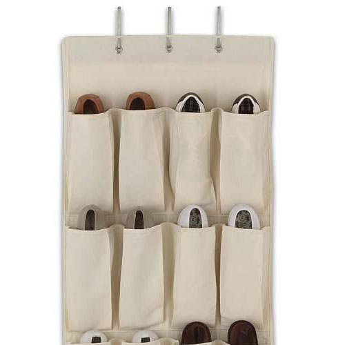 shoe racks for closet doors