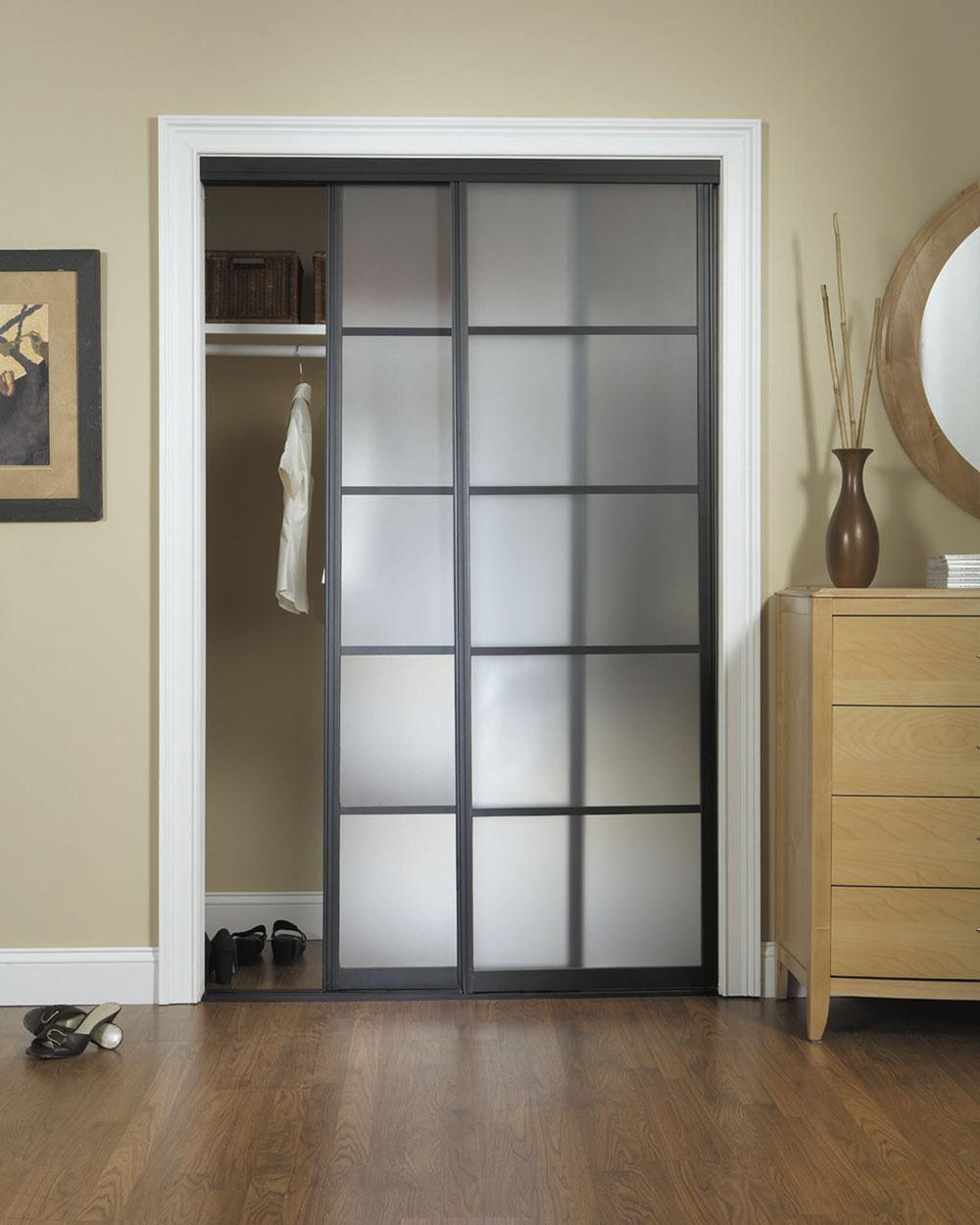 sliding door closet ideas