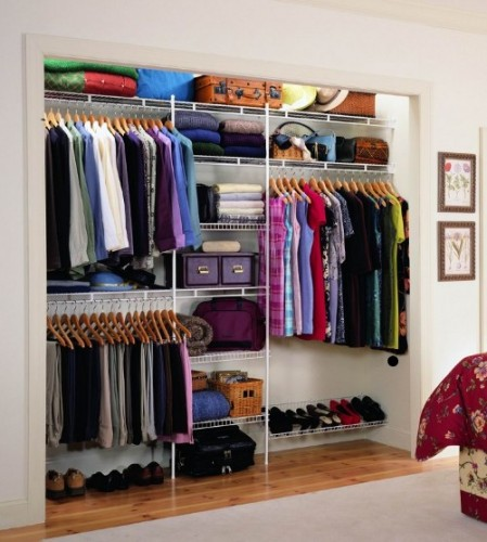wire rack shelving for closets