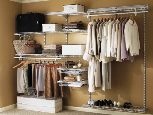 wire shelving closet design tool