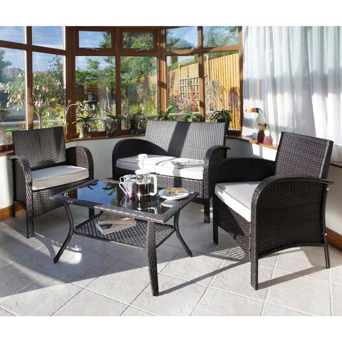 Black Rattan Garden Furniture Uk