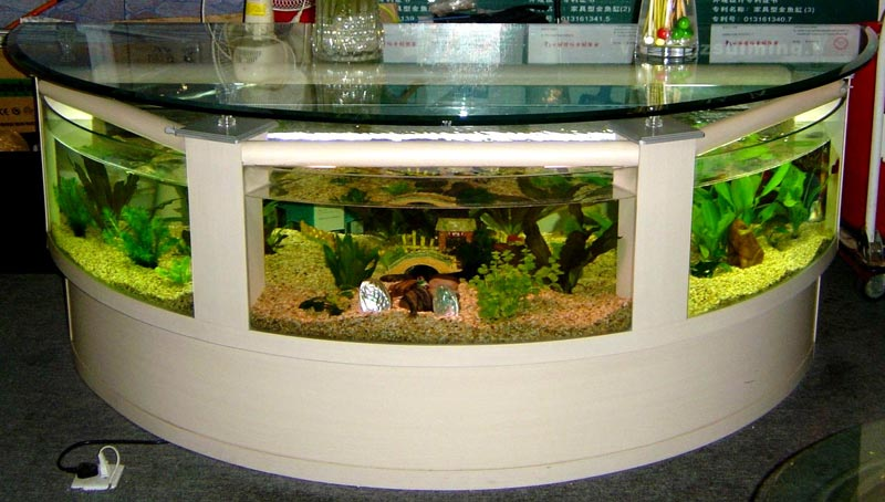 Cheap Fish Tank Coffee Table