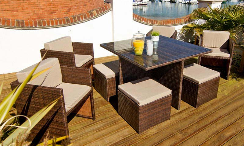 Rattan Effect Garden Furniture Sale