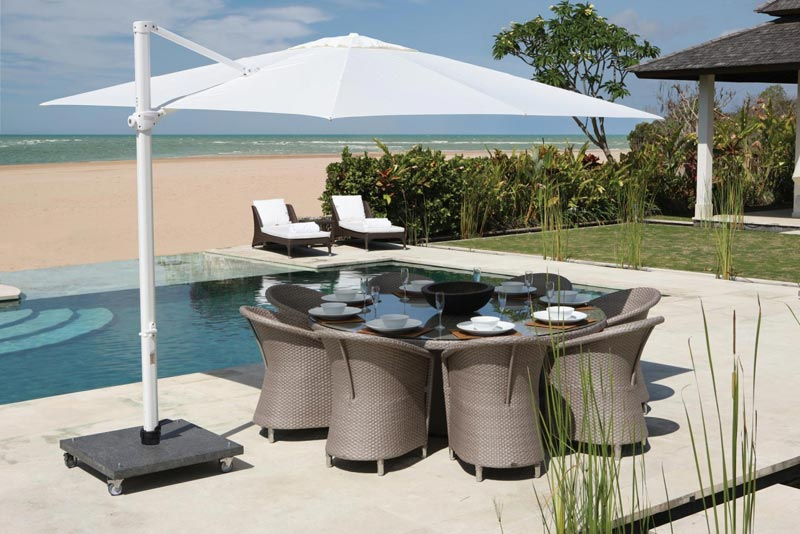 Round Rattan Garden Furniture Sets