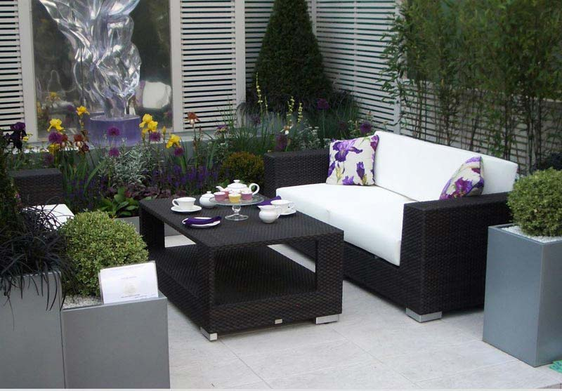 Synthetic Rattan Outdoor Garden Furniture