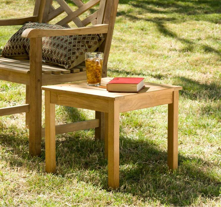 Teak Outdoor End Table