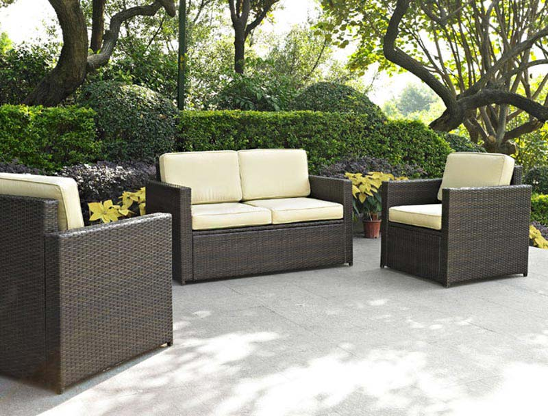 3 Piece Outdoor Wicker Furniture
