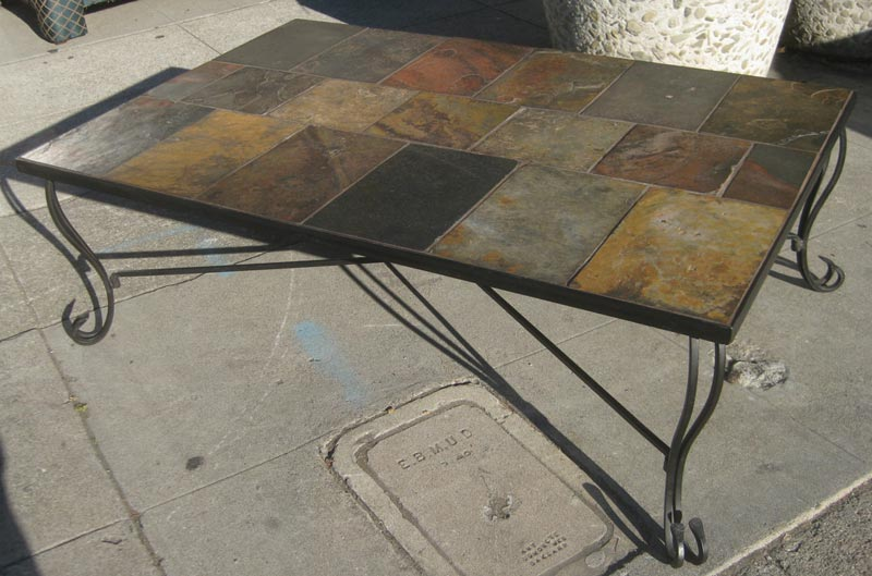 African Slate Coffee Table
