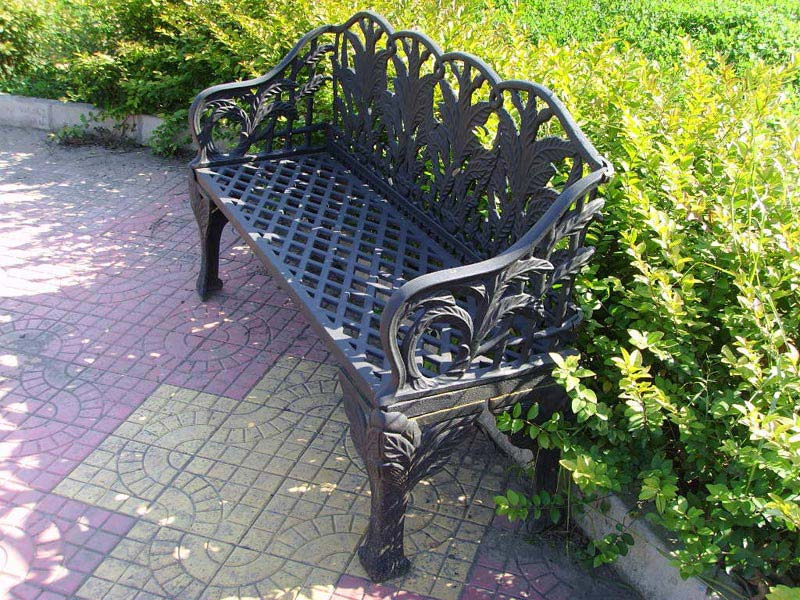 Cast Iron Garden Furniture Antique