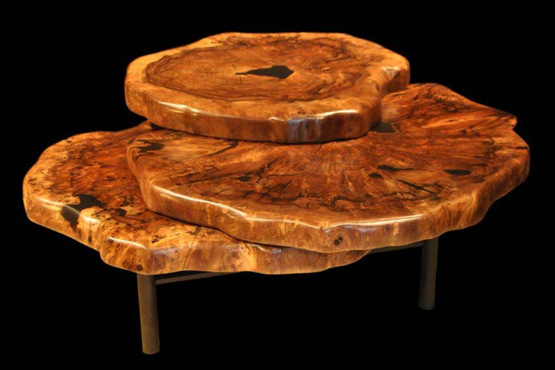 How To Make A Coffee Table From A Tree Stump