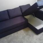 : Ikea L Sofa Bed