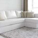 : Ikea Sofa White