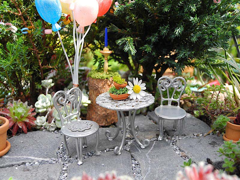 Miniature Garden Furniture Edmonton