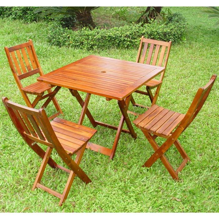 Wooden Garden Chairs And Tables