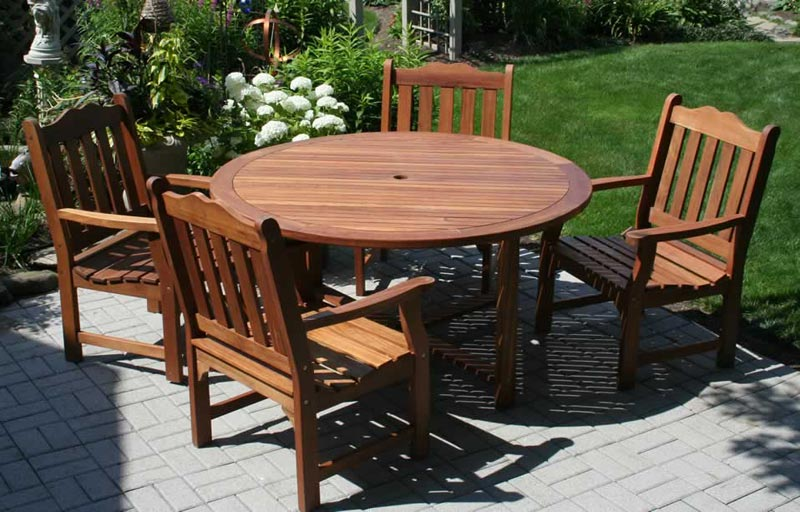 Wooden Patio Furniture Walmart