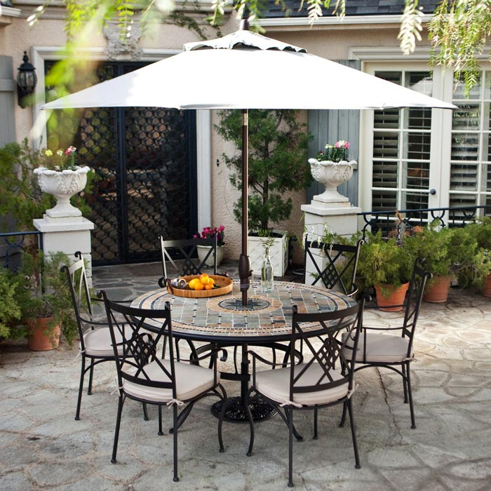 patio sets with umbrella on sale