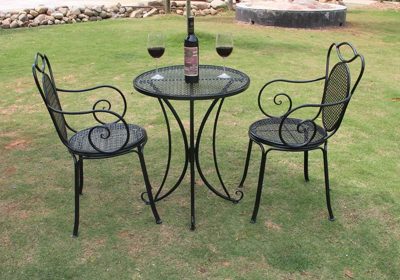 retro garden furniture wrought