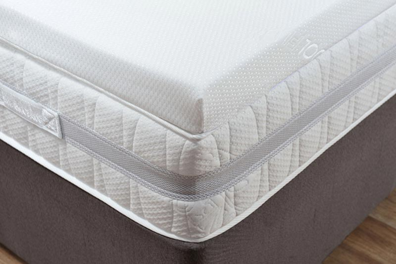 4 Inch Memory Foam Mattress Topper Double