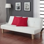 : Aria Futon Sofa Bed White