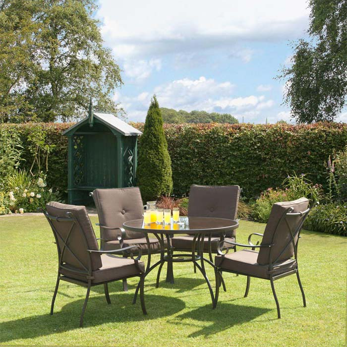 Cheap 4 Piece Garden Dining Set