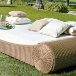 : Wicker Futon Sofa Bed