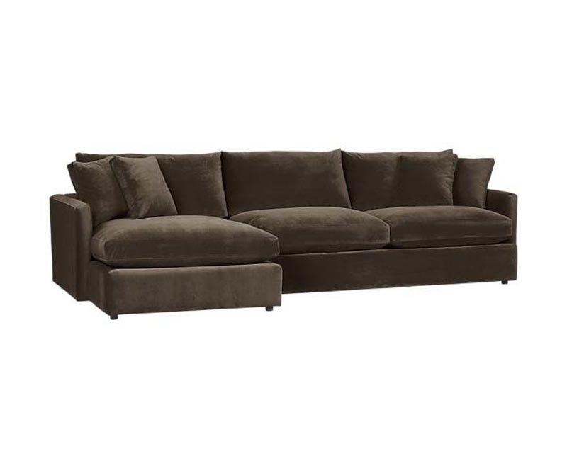3 Piece Sectional Sofa Microfiber
