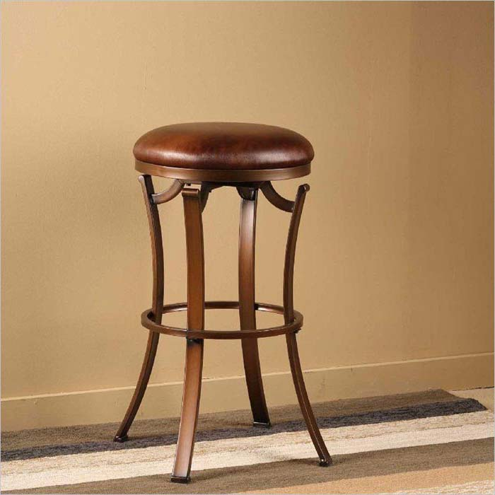 34 Inch Backless Bar Stools