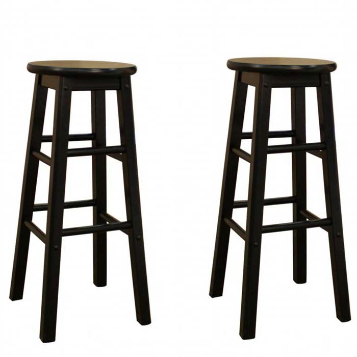 36 Inch Backless Bar Stools