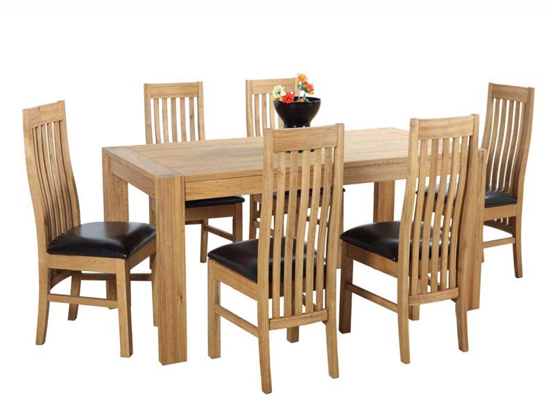 6 Seater Dining Table And Chairs Dimensions