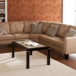 : Ascot Mocha 4 Piece Sectional Sofa