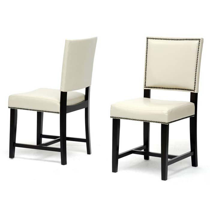 Black And White Dining Chairs Upholstered
