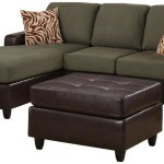 : Bobkona Manhattan Reversible Microfiber 3 Piece Sectional Sofa