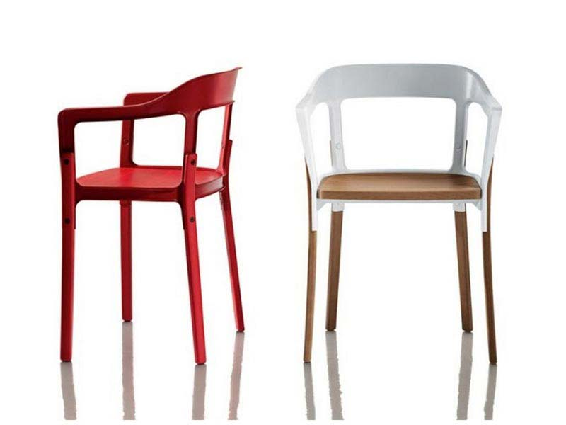 Contemporary Dining Arm Chairs