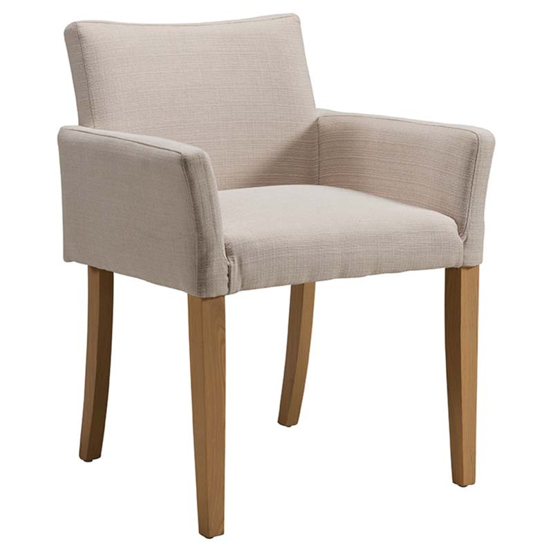 Cream Low Back Dining Chairs