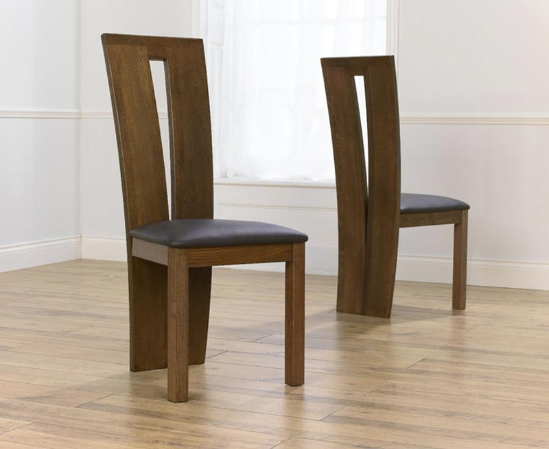 Dark Oak Dining Chairs