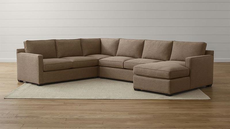 Davis 4 Piece Sectional Sofa