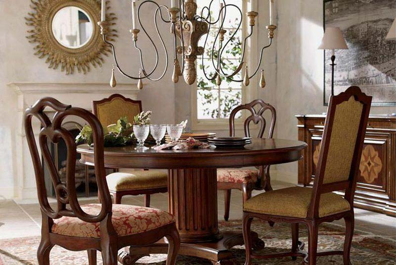 Ethan Allen Country French Dining Chairs