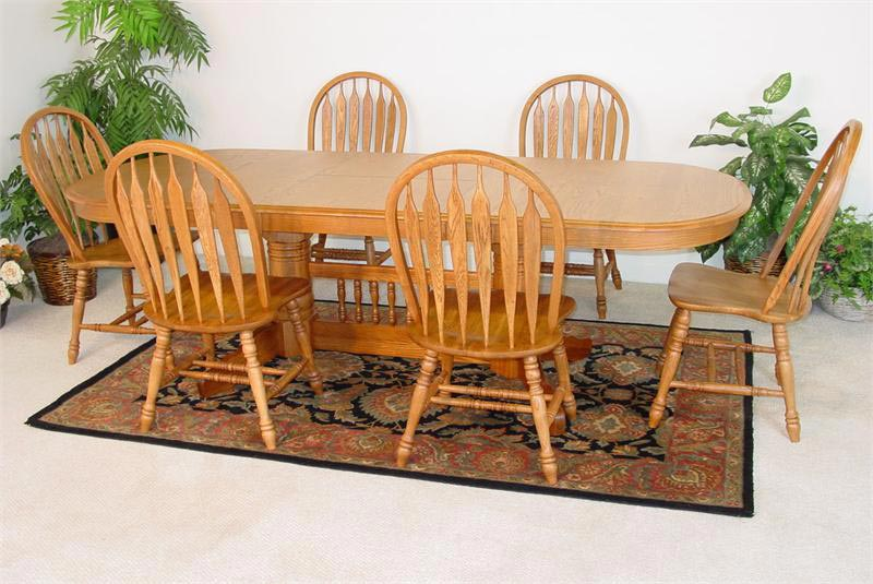 Golden Oak Dining Chairs