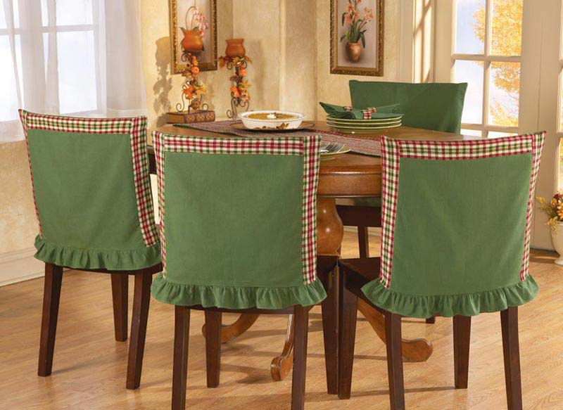 Green Dining Chair Slipcovers