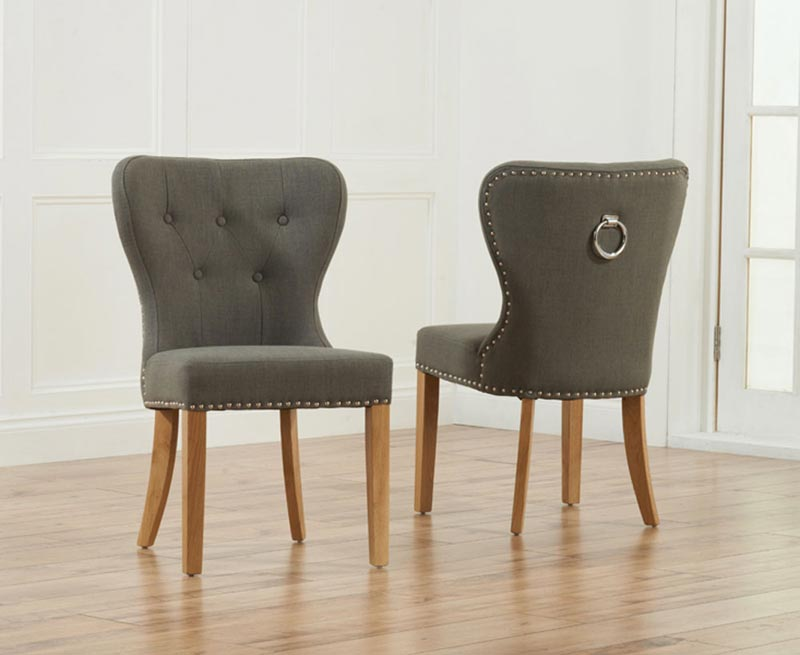 Grey Oak Dining Chairs