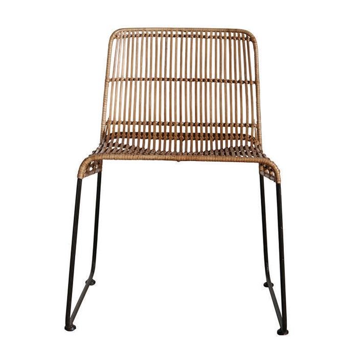 Modern Rattan Dining Chairs
