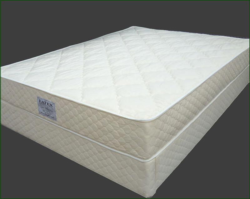 Sleep Science 9 Natural Latex Queen Mattress With Foundation