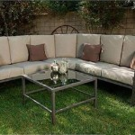 : Soho 4 Piece Outdoor Sectional Sofa Seats 5
