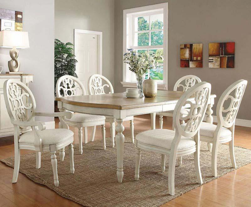 White Dining Room Furniture Sets