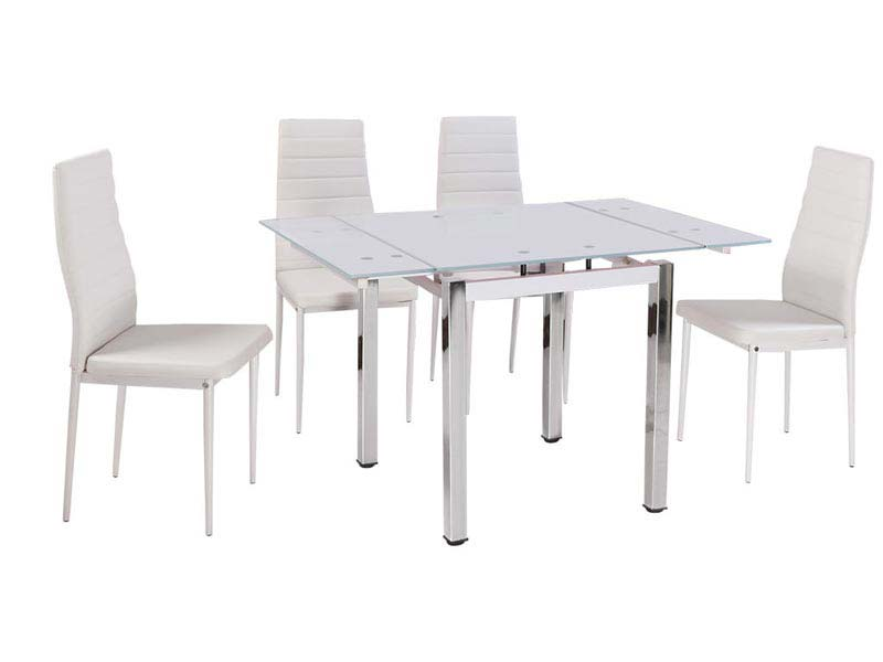 White Dining Table And Chairs Ebay