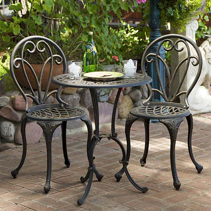2 Seater Metal Garden Furniture