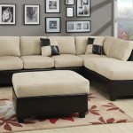 : 6 Piece Microfiber Sectional Sofa