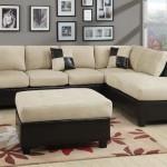 : 6 Piece Microfiber Sectional Sofa